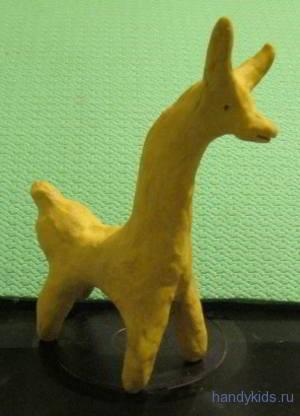 Филимоновская игрушка Козёл