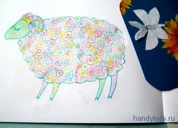 Как выполнять раскраску Баран