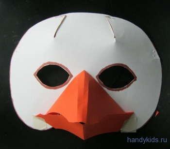 как сделать маску Гуся