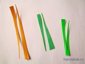 Способ разрезания полосы по диагонали