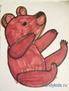 Раскраска Винни-Пух