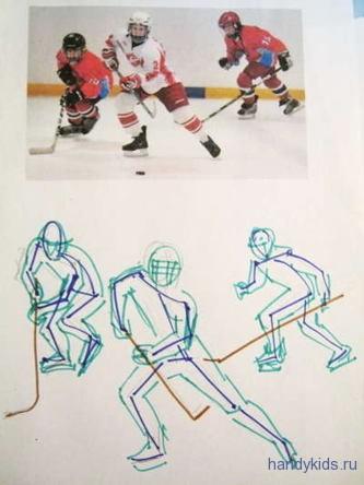 Рисунок-Хоккей