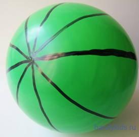Воздушный шар -арбуз