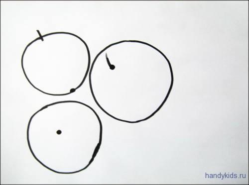 Раскраска с дорисовыванием  Арбузы
