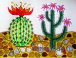 Kaktus v pustine 024