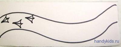 Как рисовать следы птиц