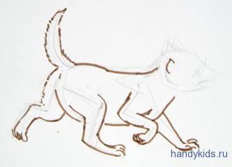 Как рисовать детёнышей животных