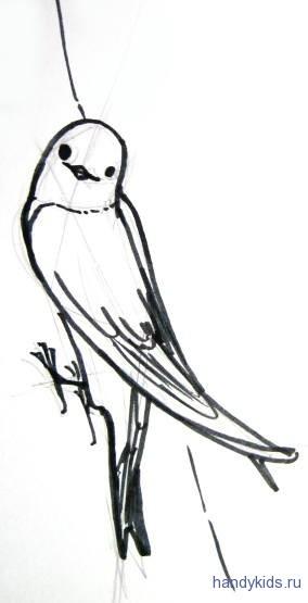 Ласточка-береговушка