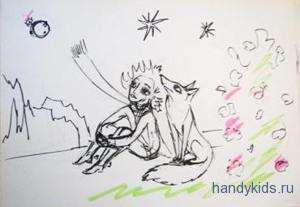 иллюстрация к Маленькому Принцу