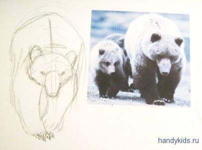 Походка медведя