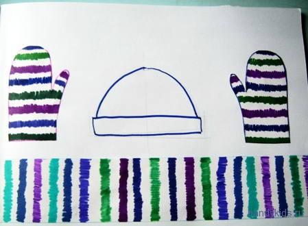 Как нарисовать шапочку