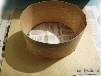 Изготовим академическую шапочку из бумаги