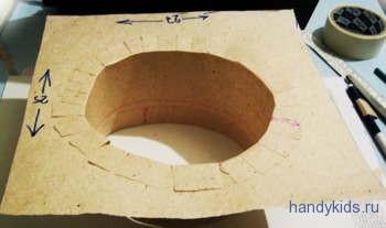 этапы изготовления шапочки выпускника