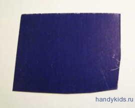 Кусок цветной бумаги