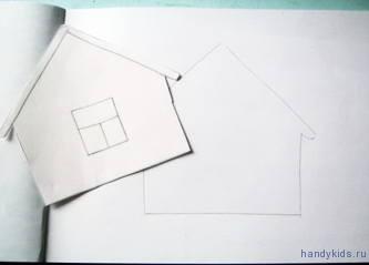Аппликация Пряничный домик