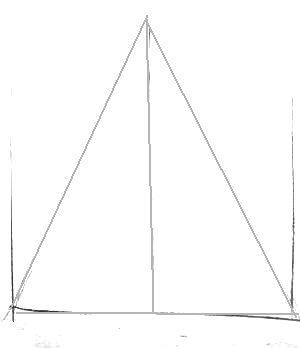 Строим симметричный треугольник