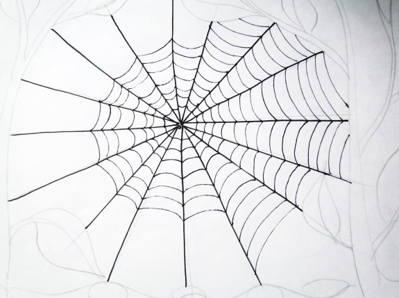 Рисунок паутины