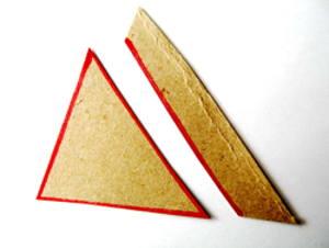 Вырезание шаблонов геометрических фигур.