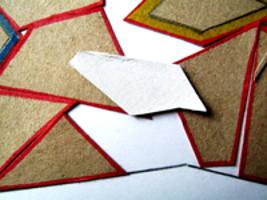 Изготовление деталей для геометрической аппликации.