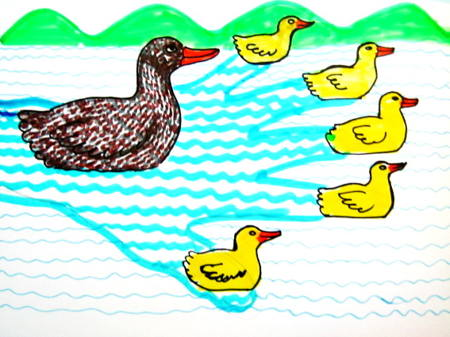 Five little Ducks picture