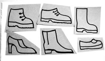 Шаблоны Обувь