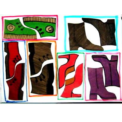 Аппликация Обувь