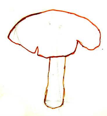 Рисунок Мухомор