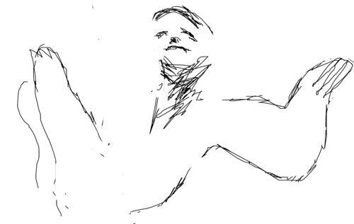 Ленивец -рисунок 3