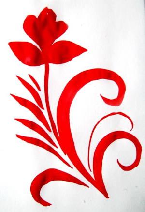 Узоры хохломской росписи