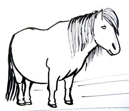 Рисунок пони 27