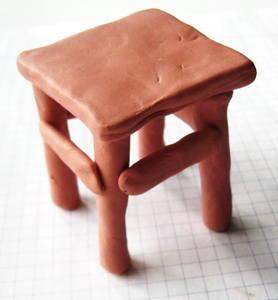 Лепка мебель