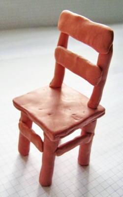 Лепка -стул