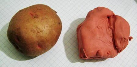 Лепим картошку
