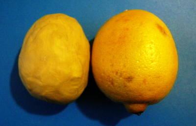 Лепим лимон