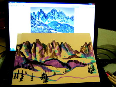 Рисунок -горы