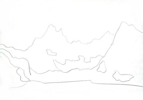 Рисунки гор