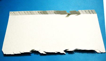 Изготовим цилиндр из бумаги