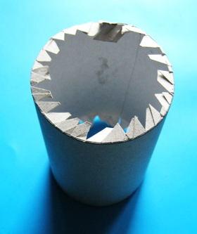 Цилиндр из бумаги и картона
