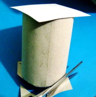 Сделаем бумажный цилиндр