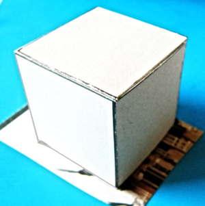 Куб из бумаги 13