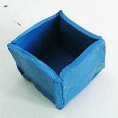 Как слепить кубик
