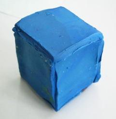 Кубик из пластилина -13
