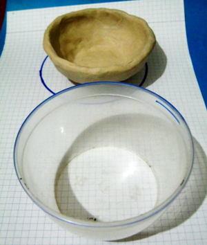 Лепка посуды с натуры.
