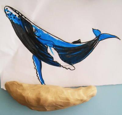Слепим кита.