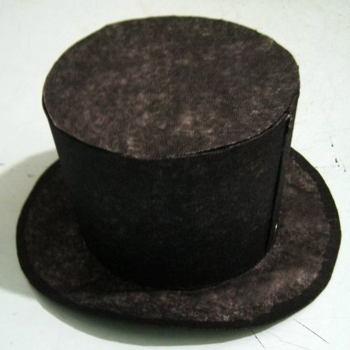 Как сделать шляпу-цилиндр из бумаги