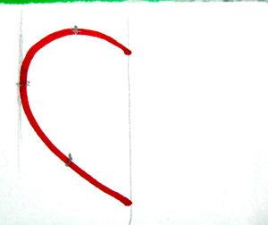 Нарисуем сердечко от руки