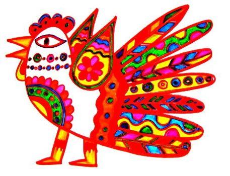 Рисунок Жар-птица