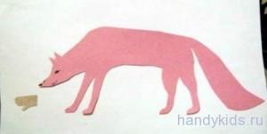 Вырезание животного из чистого листа