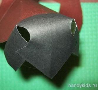 Делаем маску собаки из бумаги