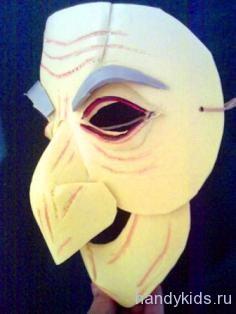 Готовая маска Бабы Яги